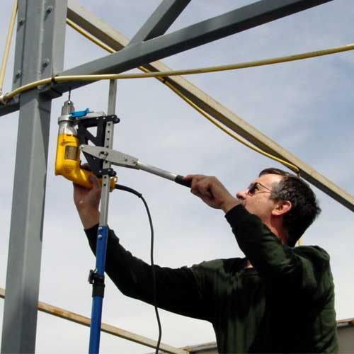Overhead Drilling On Ladder Pictures To Pin On Pinterest