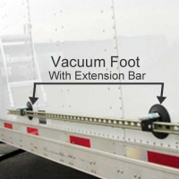 Rivet Foot on semi truck trailer
