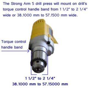 Portable Drill Press, Compatability